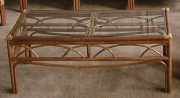 Aruba Rattan Coffee Table
