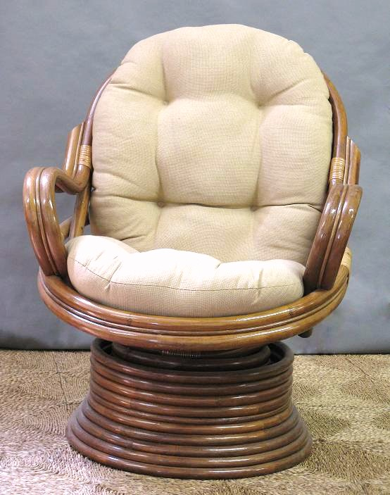 Rattan Swivel Rocker Cushion All About Wicker Wicker