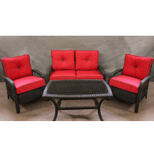Beacon 4 Piece Deep Seating Wicker Set