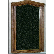 Bombay Rattan Wicker Mirror