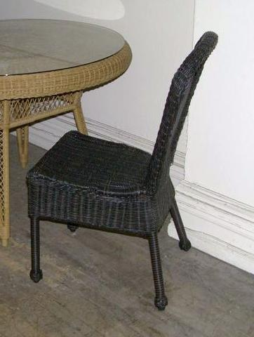 Outdoor Resin Wicker Patio Dining Chairs \ Wicker Central.com