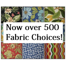 4 Fabric Pattern Swatches - Only $2.50 (Includes postage)