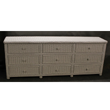 Hampton Bay Wicker 9 Drawer Dresser
