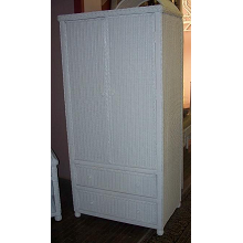 Hampton Bay Wicker Wardrobe
