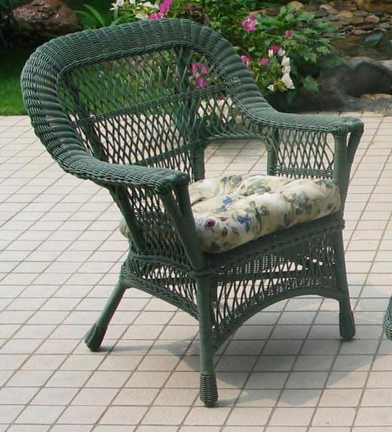 All Weather Manchester 4 Piece Wicker Seating Set All