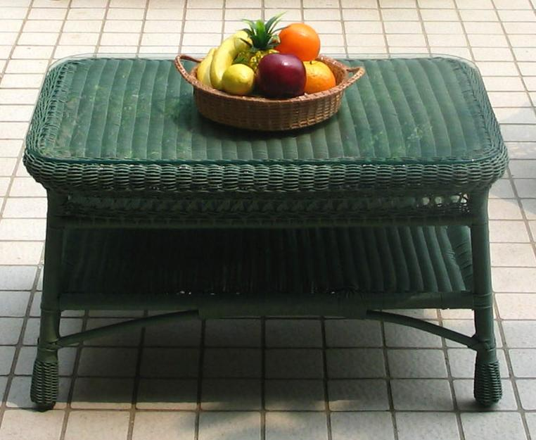 Mackinac All Weather Wicker Coffee Table