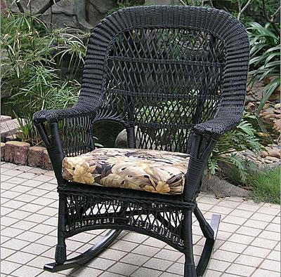 Wicker Deck Furniture on Wicker Rockers   Set Of 2  Outdoor Wicker Furniture  Furniture