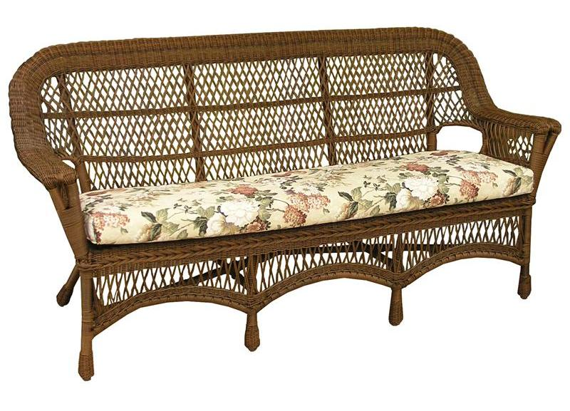 Manchester All Weather Wicker Sofa All About Wicker