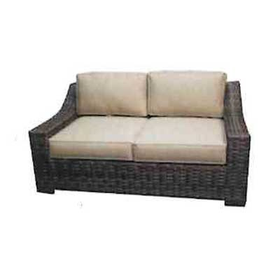 Regatta Outdoor Wicker Loveseat 1