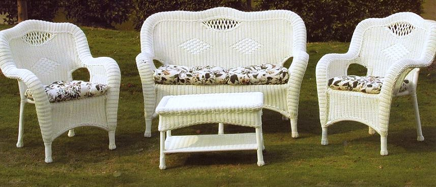 30 Elegant White Wicker Patio Furniture Clearance
