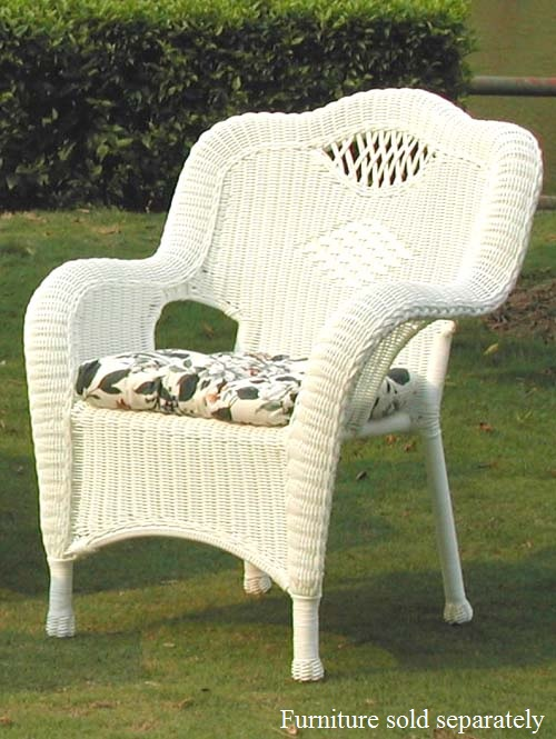 savannah all weather wicker chairs set of 2 all about wicker wicker furniture and. Black Bedroom Furniture Sets. Home Design Ideas