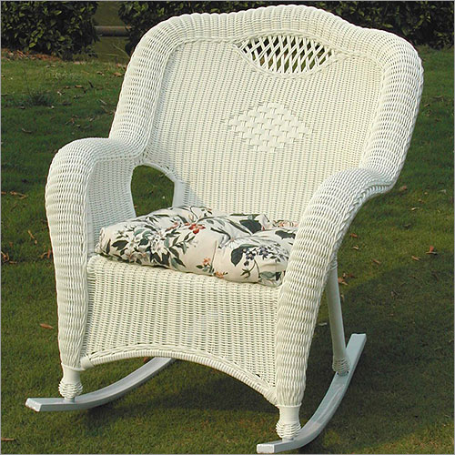 Savannah 4 Piece Wicker Seating Set with Rocker