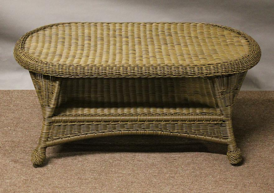 St Thomas Outdoor Wicker Coffee Table All About Wicker