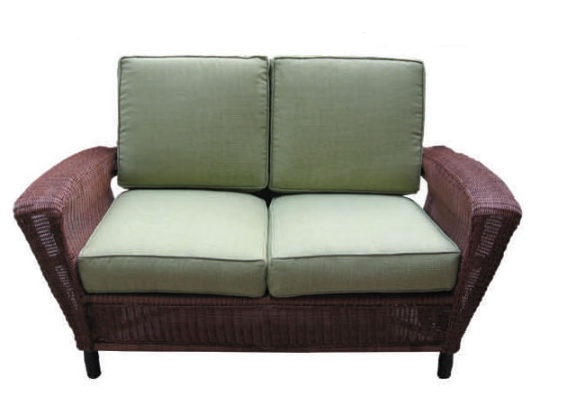 Summit Outdoor Wicker Loveseat