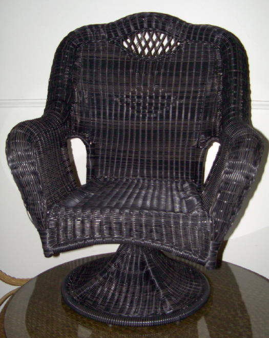 Savannah Outdoor All Weather Wicker Swivel Chair All About