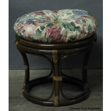 Round Cushion Chair / Ottoman - 16""