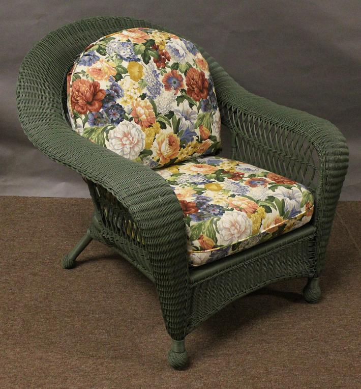 Charleston Replacement Club Chair Cushion Cover Set