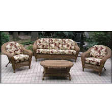 Charleston 4 Piece Wicker Sofa Seating Set