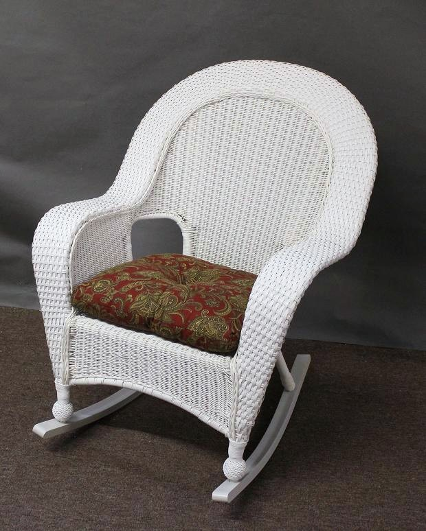 Winward Outdoor Wicker High Back Rocker