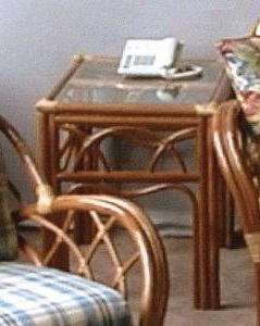 Aruba Rattan End Table