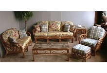 Aruba 6 Piece Rattan Seating Set