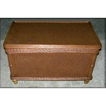 Natural Rattan Wicker Large Storage Trunk