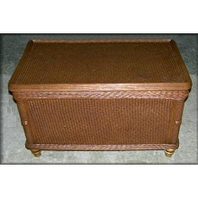 Natural Rattan Wicker Storage Trunk