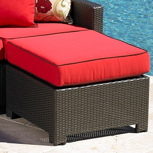 Cabo Outdoor Wicker Ottoman