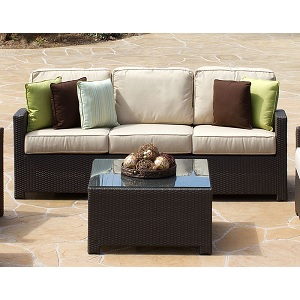 Cabo Outdoor Wicker Sofa