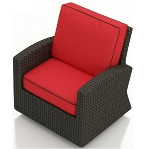 Cabo Outdoor Wicker Swivel Glider Rocker