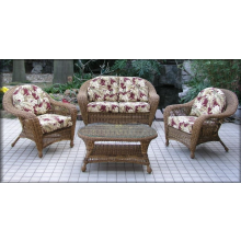 Charleston 4 Piece Wicker Seating Set