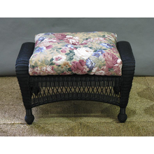 Charleston Outdoor Wicker Ottoman