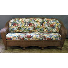 Charleston Outdoor Wicker 3 Seater Sofa