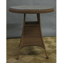 Outdoor All Weather Wicker Pub / Bar Table