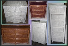 Wicker Bedroom Dressers and Chests