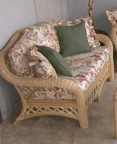 Grand Cayman Wicker and Rattan Loveseat