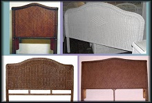 Wicker and Rattan Headboards