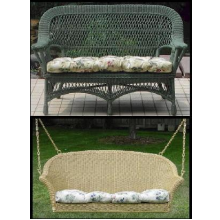 Loveseat Settee / Swing / Double Glider Cushion - Jumbo