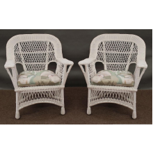 Mackinac All Weather Wicker Chairs - Set of 2