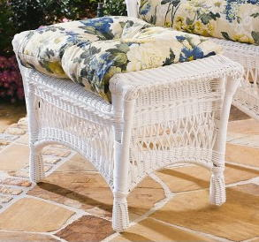 Mackinac All Weather Wicker Ottoman