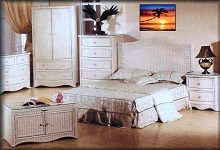 Florentine Wicker Bedroom Collection