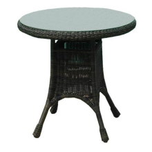 "36"" All Weather Wicker Dining Table"