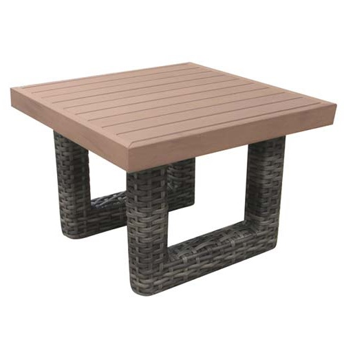 Regatta Outdoor Wicker End Table