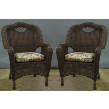 Savannah All Weather Wicker Chairs - Set of 2