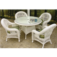 St Lucia 5 Piece Outdoor Wicker Dining Set