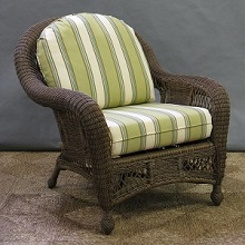 St Lucia Outdoor Wicker Chair