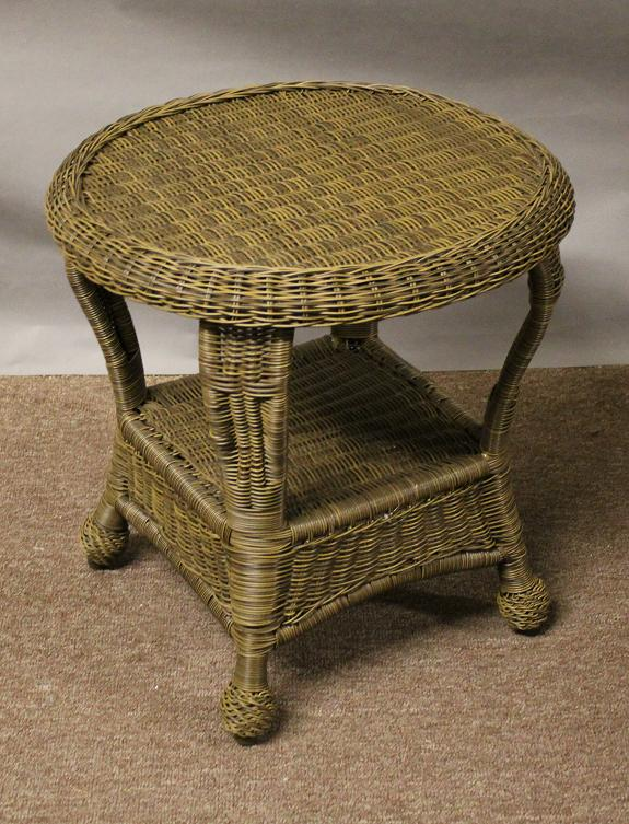 St Thomas Outdoor Wicker End Table