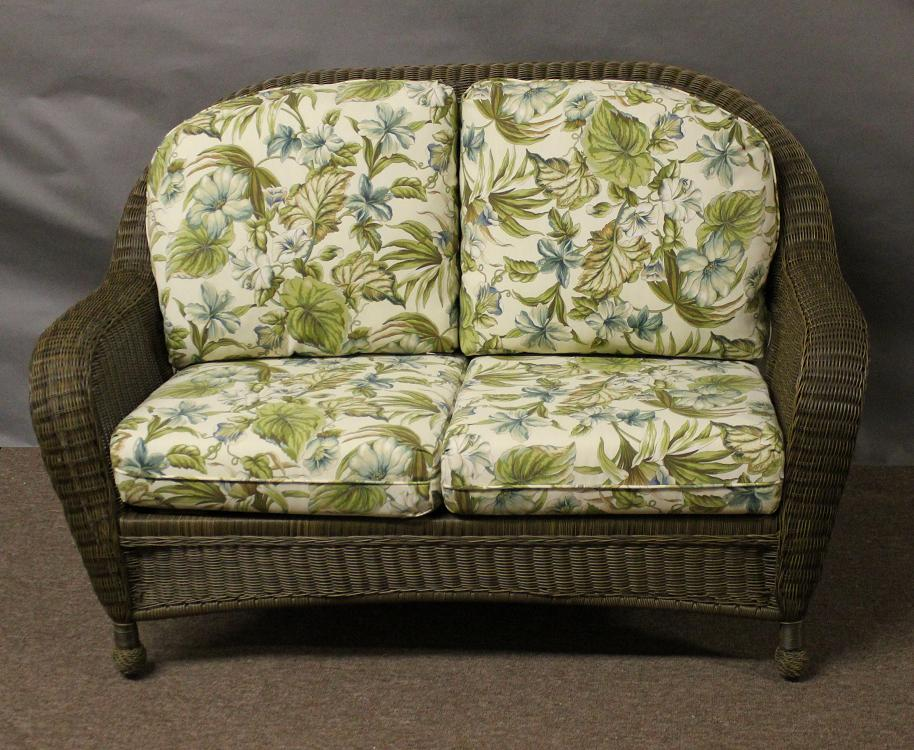 St Thomas Outdoor Wicker Settee