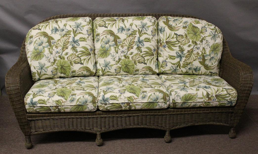 St Thomas Outdoor Wicker Sofa All About Wicker