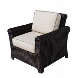 Tisdale Deep Seating Wicker Chair
